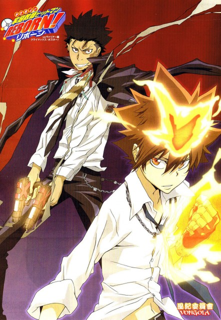 Katekyo Hitman Reborn!, Xanxus, Tsunayoshi Sawada