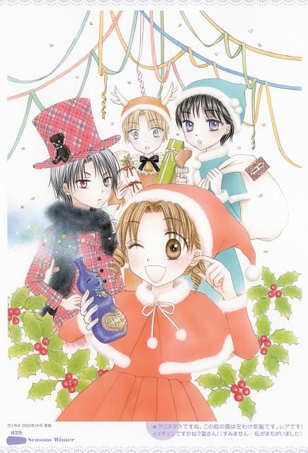 Tachibana Higuchi, Gakuen Alice, Gakuen Alice Illustration Fan Book, Mikan Sakura, Ruka Nogi