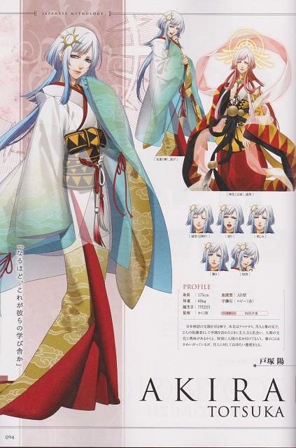 Yone Kazuki, Brains Base, Broccoli, Kamigami no Asobi Official Fan Book, Kamigami no Asobi