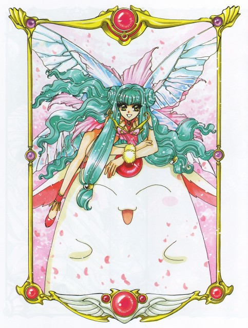 CLAMP, Magic Knight Rayearth, Magic Knight Rayearth 2 Illustrations Collection, Primera, Mokona