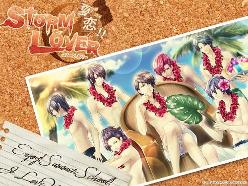 Yasutake Kawahito, Storm Lover, Yuuto Uzuki, Rikka Toratani, Mio Ikari