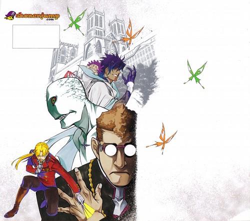 Katsura Hoshino, D Gray-Man, Apocryphos (D Gray-man), Road Kamelot, Howard Link