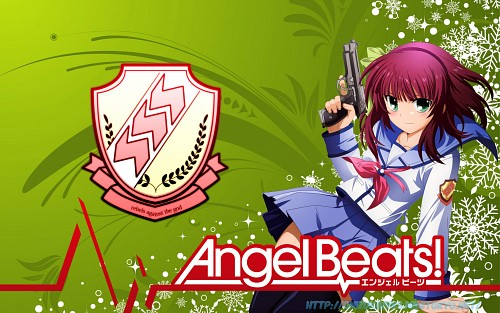 Na-Ga, P.A. Works, Key (Studio), Angel Beats!, Yuri Nakamura  Wallpaper