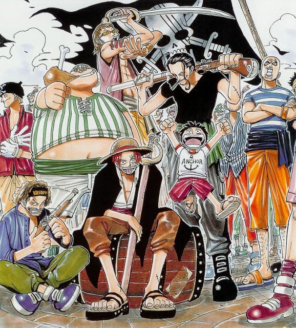 Eiichiro Oda, One Piece, Color Walk 1, Benn Beckman, Yasopp