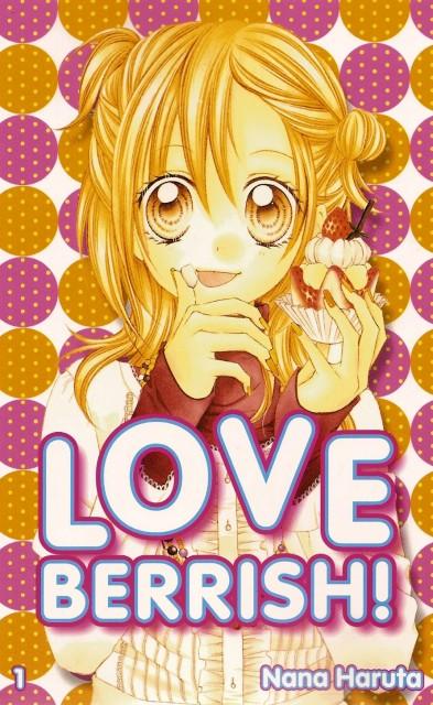 Nana Haruta, Love Berrish!, Yuuya Fukushima, Manga Cover
