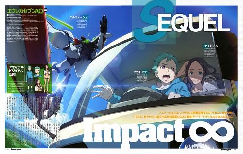 Shiho Takeuchi, Hiroyuki Oda, BONES, Eureka 7: Astral Ocean, Ao Fukai