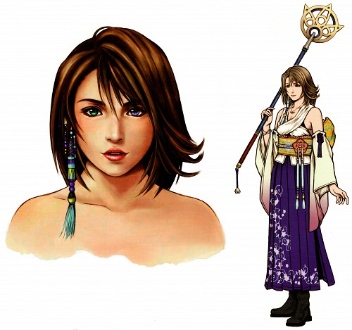 Square Enix, Final Fantasy X, Yuna