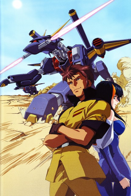 Sunrise (Studio), Mobile Suit Gundam SEED, Hisashi Hirai Illustration Works, Andrew Waltfeld, Aisha (Gundam SEED)