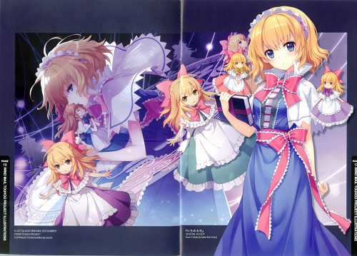 An2a, Petite Fatal 4th, Touhou, Alice Margatroid