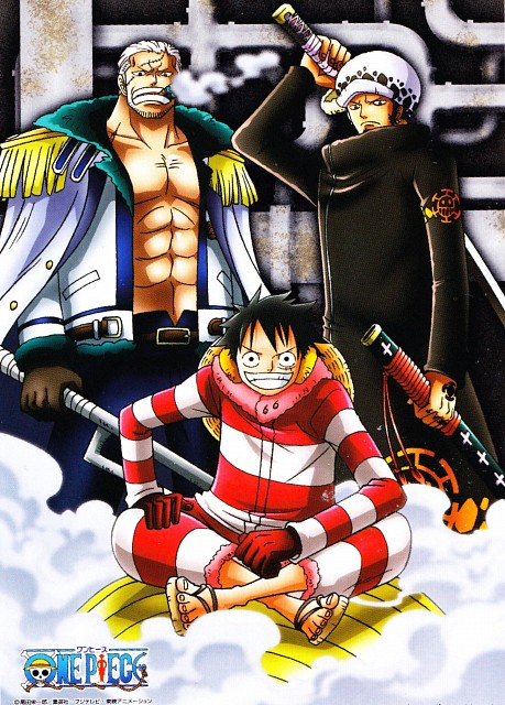 Eiichiro Oda, Toei Animation, One Piece, Smoker (One Piece), Monkey D. Luffy