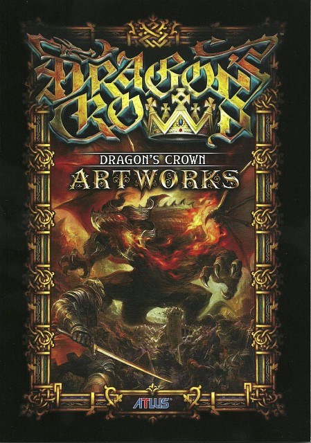 Dragon's Crown Artworks