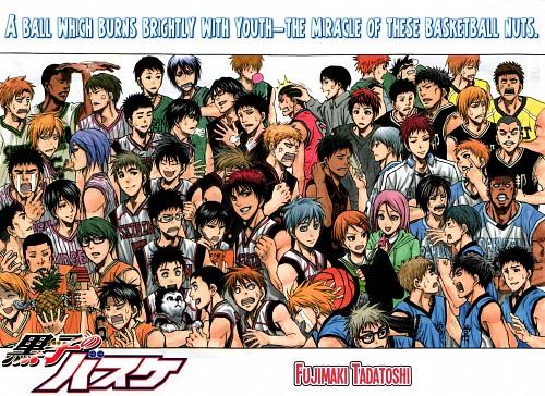 Tadatoshi Fujimaki, Production I.G, Kuroko no Basket, Atsushi Murasakibara, Reo Mibuchi