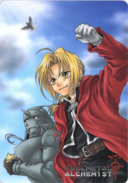 Fullmetal Alchemist, Alphonse Elric, Edward Elric, Doujinshi