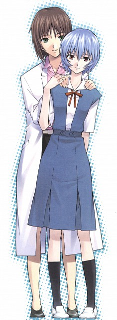 Osamu Takahashi, Gainax, Neon Genesis Evangelion, Yui Ikari, Rei Ayanami
