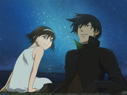 Yuji Iwahara, BONES, Darker than Black, Hei, Bai Wallpaper