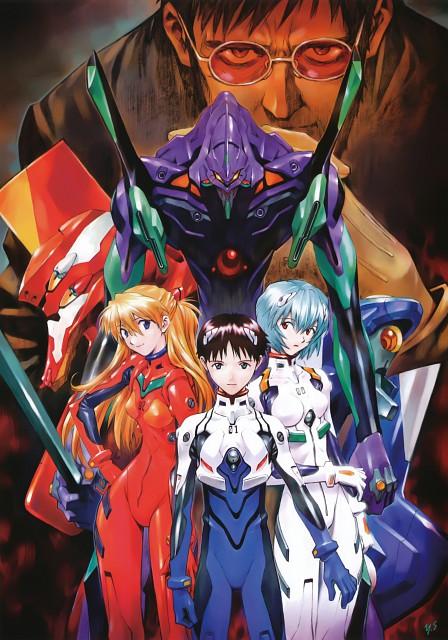Yoshiyuki Sadamoto, Gainax, Neon Genesis Evangelion, Carmine, Asuka Langley Soryu