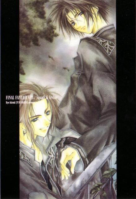 Yubinbasya, Final Fantasy VIII, Irvine Kinneas, Squall Leonhart, Doujinshi