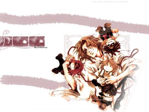 Kazuya Minekura, Studio Pierrot, Saiyuki, Kami-sama Wallpaper