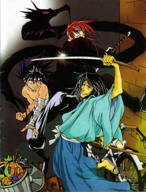 Yuu Yuu Hakusho, Weiss Kreuz, Ran Fujimiya, Hiei, Doujinshi