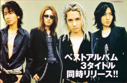 Ken Kitamura, L'Arc~en~Ciel, Yukihiro Awaji, Tetsuya Ogawa, Hyde (J-Pop Idol)