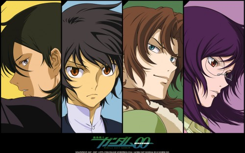 Sunrise (Studio), Mobile Suit Gundam 00, Setsuna F. Seiei, Allelujah Haptism, Lockon Stratos Wallpaper
