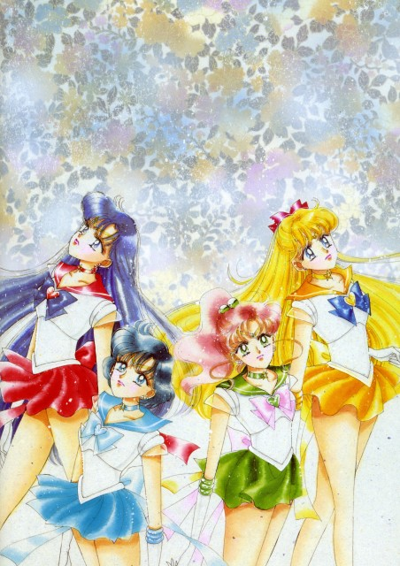 Naoko Takeuchi, Bishoujo Senshi Sailor Moon, BSSM Original Picture Collection Vol. IV, Sailor Mars, Sailor Mercury