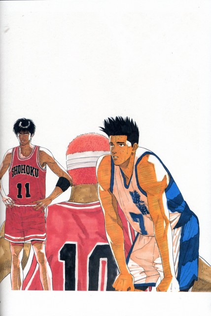 Takehiko Inoue, Slam Dunk, Inoue Takehiko Illustrations, Akira Sendo, Kaede Rukawa