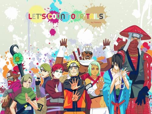 Masashi Kishimoto, Studio Pierrot, Naruto, Roushi , Killer Bee Wallpaper