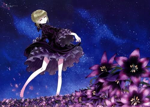 Shirou Hisamatsu, Fate/flower shower, Fate/stay night, Saber Alter