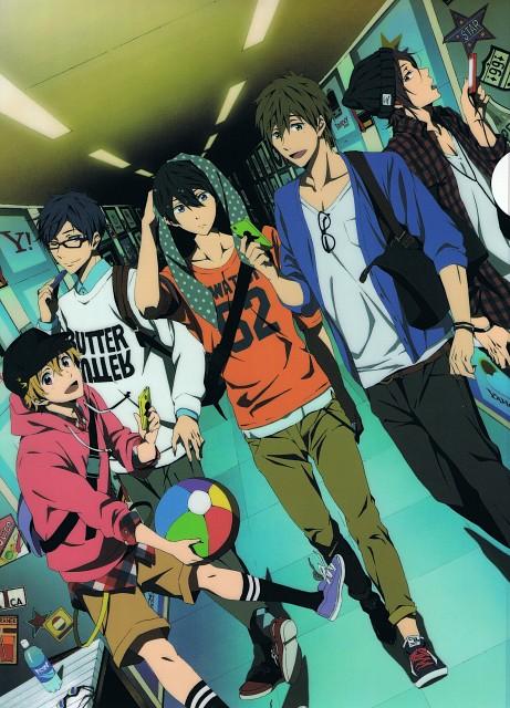 Hiroko Utsumi, Kyoto Animation, Free!, Makoto Tachibana, Haruka Nanase (Free!)