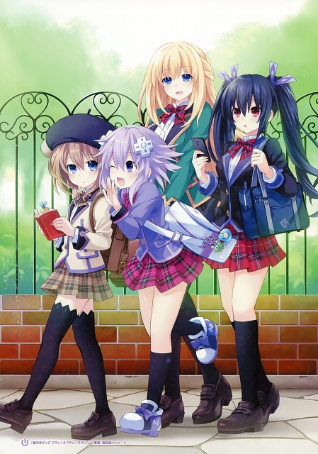 Tsunako, Idea Factory, David Production, Choujigen Game Neptune, Blanc