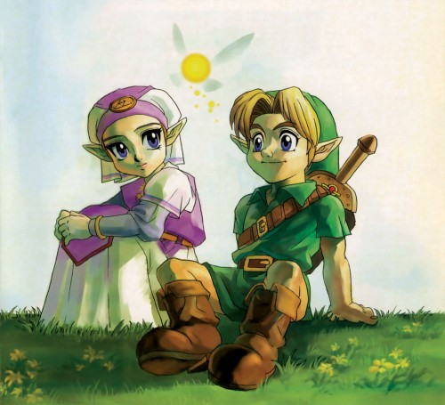 Nintendo, The Legend of Zelda: Ocarina of Time, The Legend of Zelda, Navi, Link