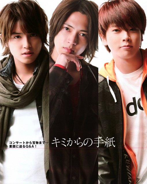 NEWS, Yuya Tegoshi, Tomohisa Yamashita, Takahisa Masuda