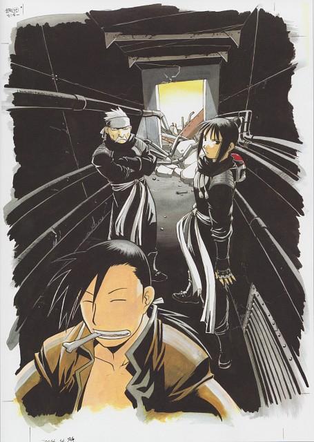 Hiromu Arakawa, Fullmetal Alchemist, Fullmetal Alchemist Artbook Vol. 2, Ling Yao, Fu (FMA)