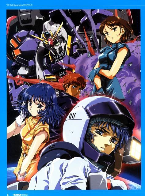 Koh Kawarajima, Sunrise (Studio), Mobile Suit Zeta Gundam, Fa Yuiry, Kamille Bidan