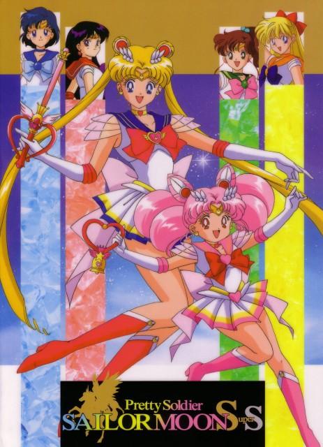 Toei Animation, Bishoujo Senshi Sailor Moon, Sailor Venus, Sailor Mercury, Super Sailor Chibi Moon