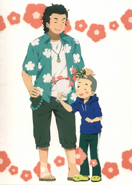 Makoto Mizuki, A-1 Pictures, AnoHana, AnoHana Unofficial Fan Book, Tetsudou Hisakawa