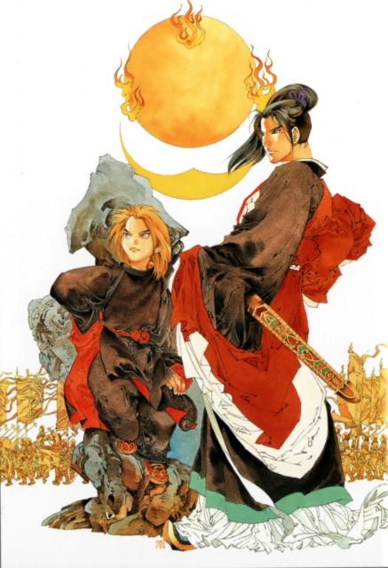 Akihiro Yamada, Twelve Kingdoms, Enki, Shouryu