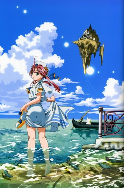Kozue Amano, Aria, Stella – Kozue Amano Illustration Works 2, Aria Shachou, Akari Mizunashi