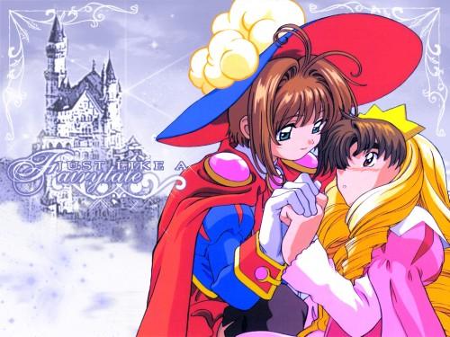 CLAMP, Madhouse, Cardcaptor Sakura, Syaoran Li, Sakura Kinomoto Wallpaper
