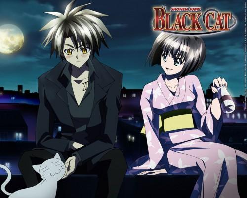 Kentaro Yabuki, Gonzo, Black Cat, Train Heartnet, Mr. Cat
