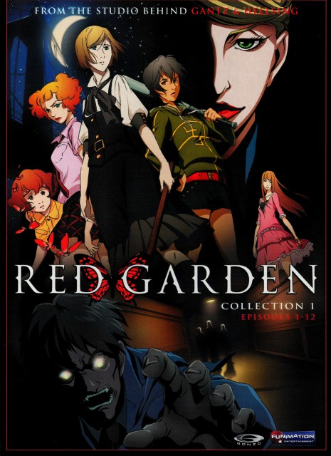 Kirihito Ayamura, Gonzo, Red Garden, Kate Ashley, Lise Harriette Meyer