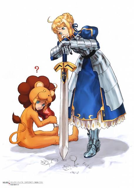 Kinu Nishimura Lion Saber X Saber Minitokyo #kinu nishimura #code of princess. minitokyo