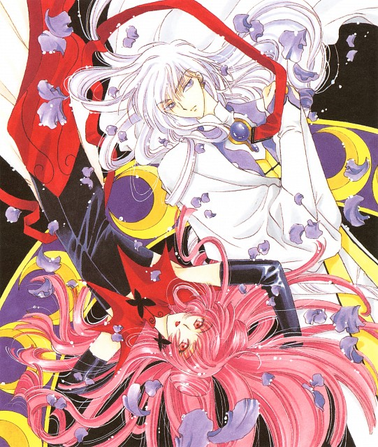CLAMP, Madhouse, Cardcaptor Sakura, Cardcaptor Sakura Illustrations Collection 2, Yue