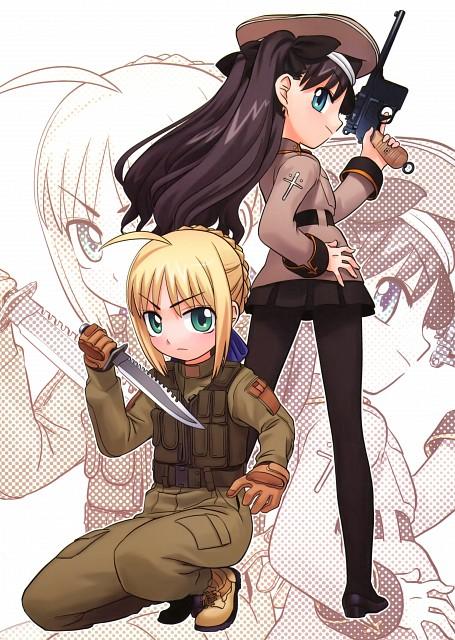 Yukio Hirai, TYPE-MOON, Fate/tiger colosseum, Rin Tohsaka, Saber