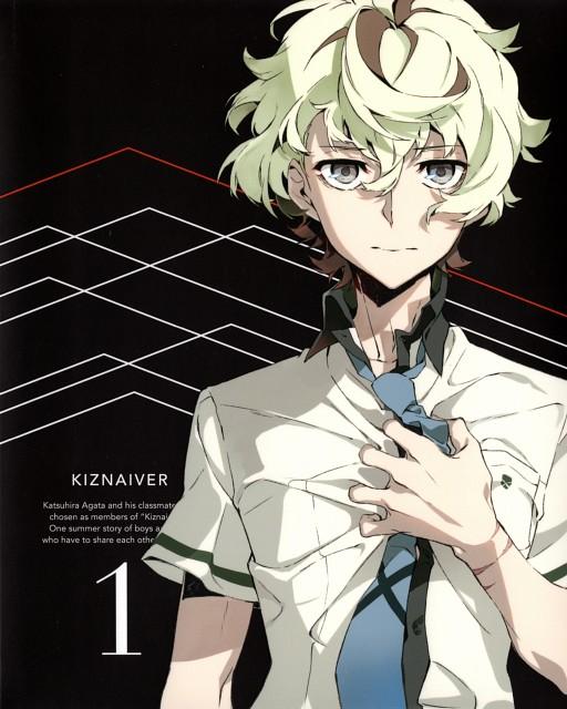 Mai Yoneyama, Trigger (Studio), Kiznaiver, Katsuhira Agata, DVD Cover