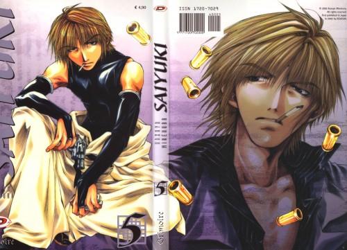 Kazuya Minekura, Studio Pierrot, Saiyuki, Genjyo Sanzo, Manga Cover