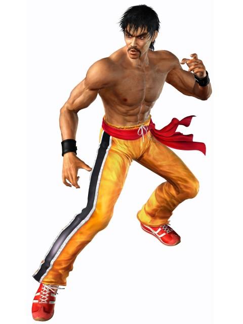 Namco, Tekken, Marshall Law, Official Digital Art