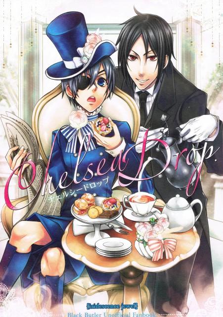 Kan (Mangaka), Kuroshitsuji, Ciel Phantomhive, Sebastian Michaelis, Doujinshi Cover