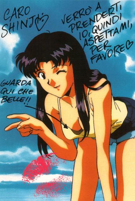 Yoshiyuki Sadamoto, Gainax, Neon Genesis Evangelion, Misato Katsuragi